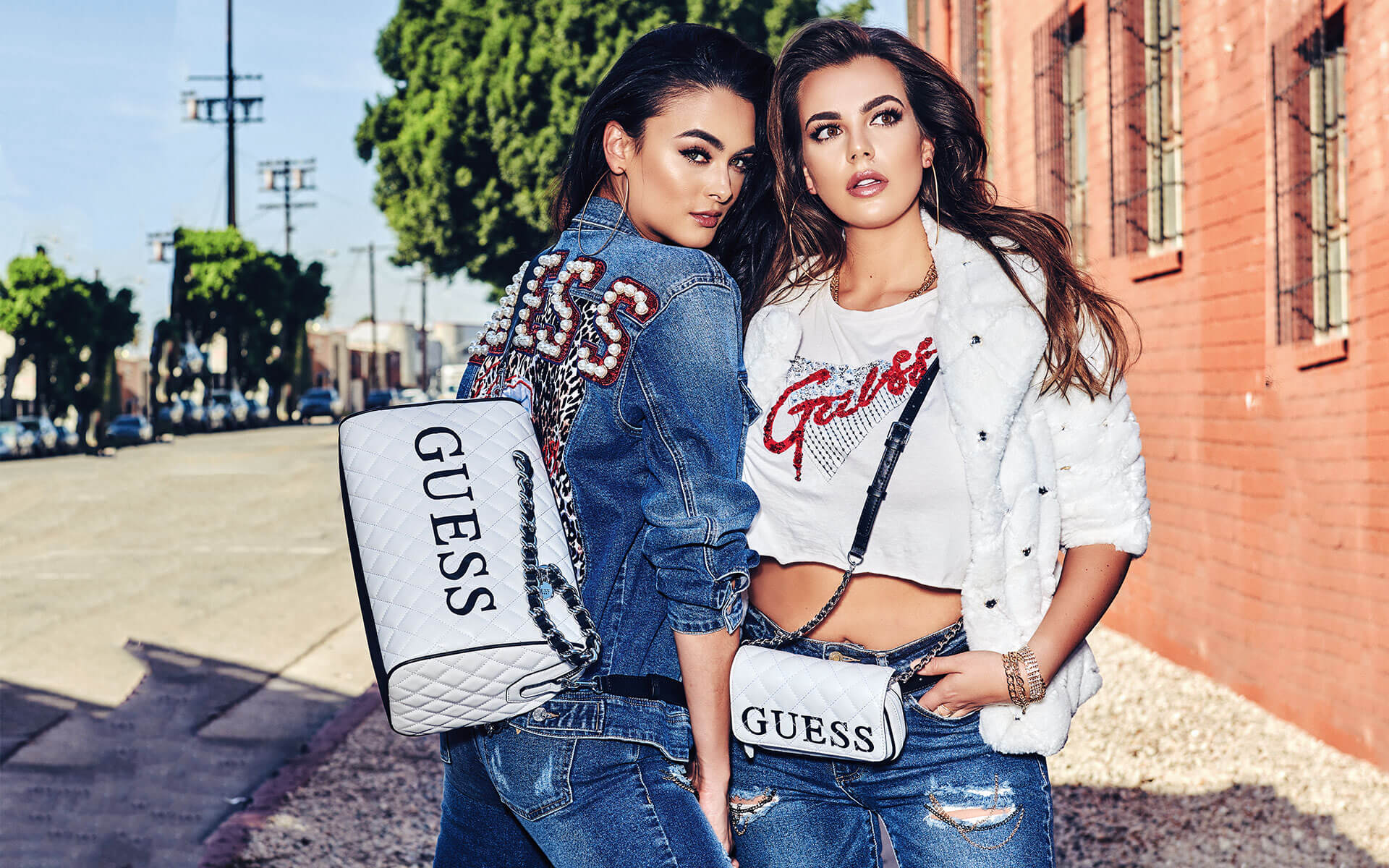 NadineMirada GUESS Holiday Kampagne 2018